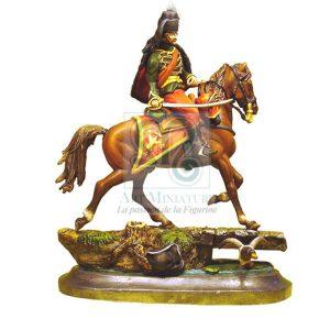 cavalier chasseur de fischer 1743 - 1748