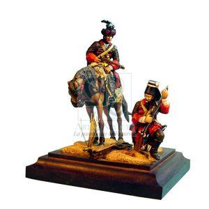 dragon et fusilier de la morliere 1745 1749