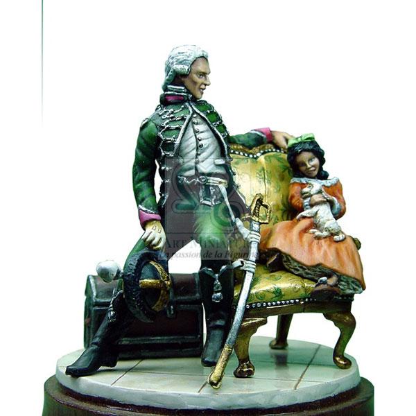 officier des chasseurs a cheval 1791